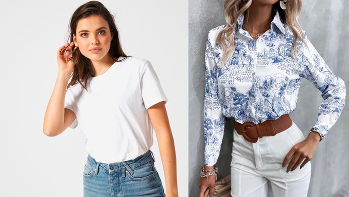 Do you prefer plain or patterned outfits?