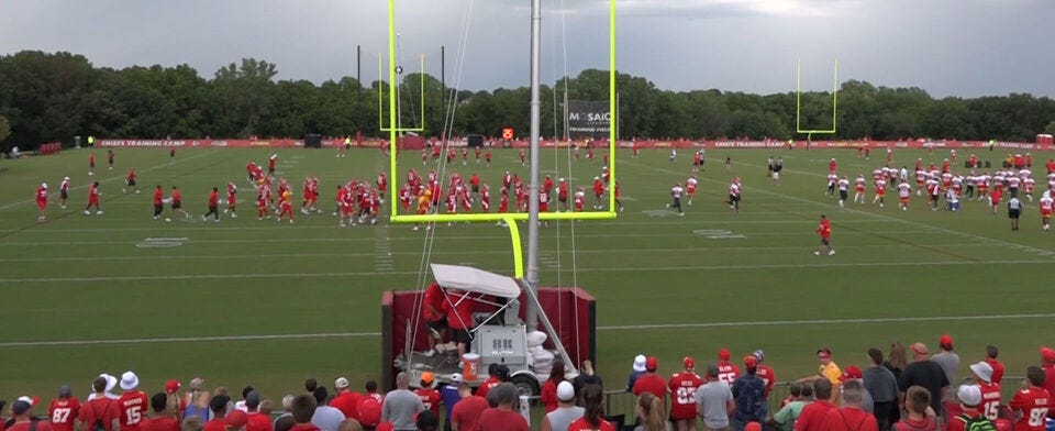 Chiefs training camp is returning to St. Joseph. Will you be attending?