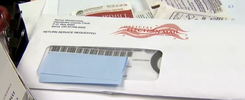 Do you agree with all ballots being counted if postmarked by Election Day?