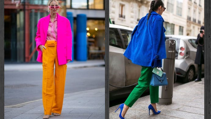 Which fun color combo would you rather wear this summer?