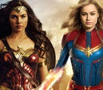 Would you rather team up with Wonder Woman or Captain Marvel?