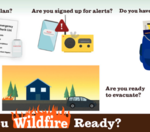 As a result of the recent wildfires, are you preparing a safety plan/ kit?