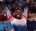 What do you admire more about Simone Biles?