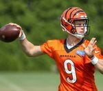 Can Joe Burrow and the Bengals' offense improve after a slow first week of training camp?