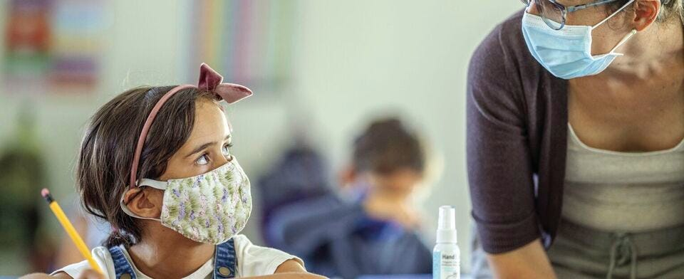 Should students and teachers go back to wearing masks in school?