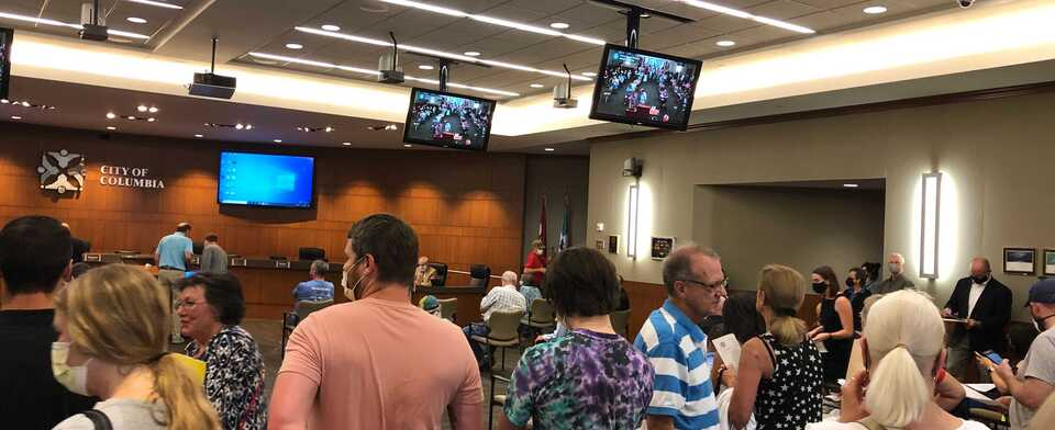 Do you agree with the Columbia City Council's mask decision?