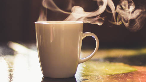 In the morning, what do you start the day with?
