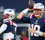 Who's going to win the New England Patriots QB competition?