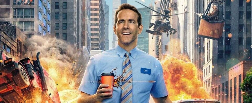 """Are you going to see """"Free Guy"""" with Ryan Reynolds?"""