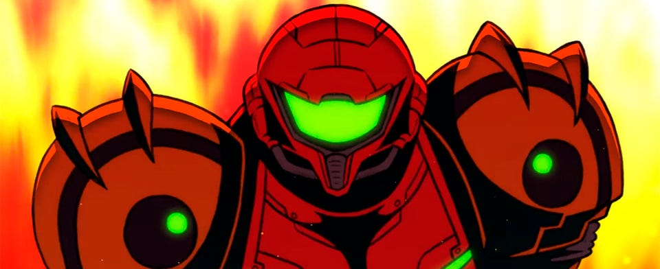 Would you be interested in an anime series based on Nintendo's Metroid?