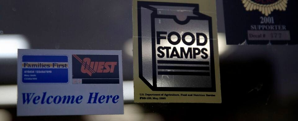 Do you agree with the Biden Administration's 25% increase in food stamp benefits?
