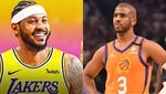 Who do you more want to see get a championship ring - Carmelo Anthony or Chris Paul?