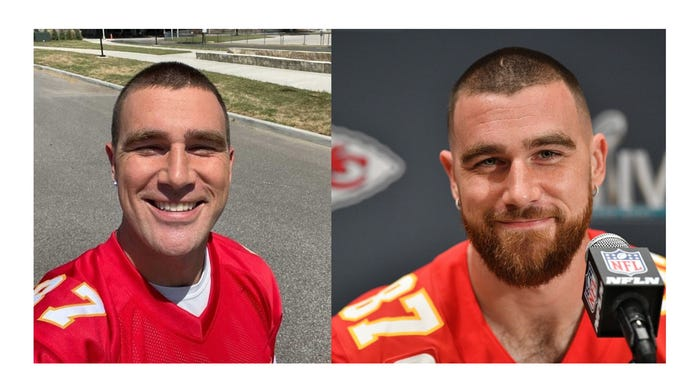 Do you prefer Travis Kelce with or without his beard?