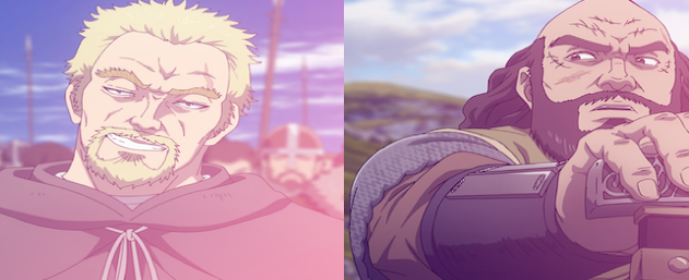 Who is a better influence for Canute in Vinland Saga?