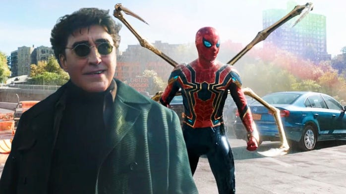 Are you stoked to see Doctor Octopus in the new Spider-Man Trailer?