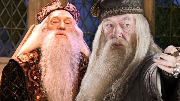 Who was the better Dumbledore?