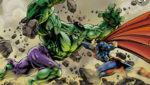 Superman versus The hulk who would win in a fight