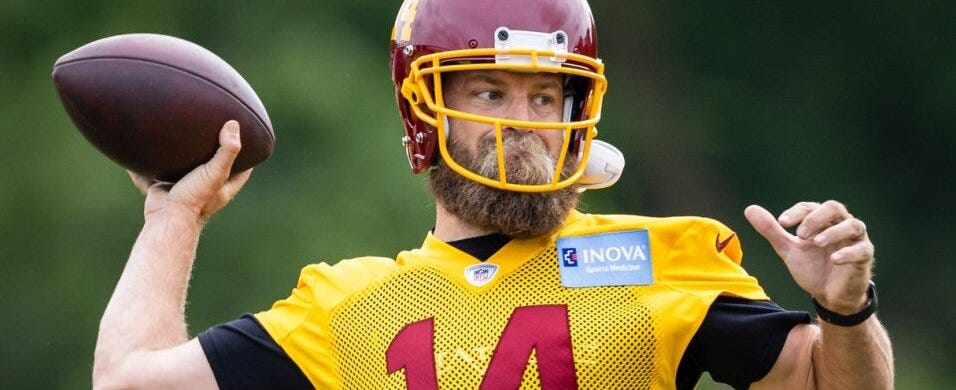 Is starting Fitzpatrick for the Washington Football Team a big mistake?