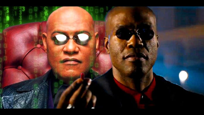 Matrix Resurrections. Are you digging the new Morpheus?