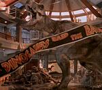 Do you watch Jurassic Park for the velociraptors or the T-Rex?