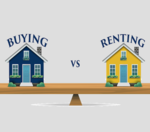 What's better when looking for a place to live? Buying or Renting