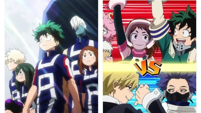 Which Tournament Arc Was Better? - My Hero Academia