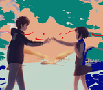 does anyone want a short anime about the movie Your Name but more as teens/adult?