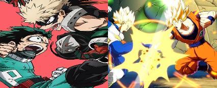 who has the better reverie  Bakugo vs Deku or  Vegeta vs Goku