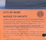 Do you think Bend should take more steps to remove homeless camps on public property?