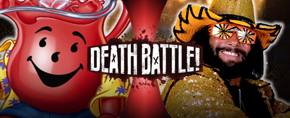 Who will win the next Death Battle  Macho Man VS Kool-Aid Man ?