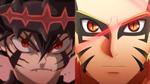Devil Union Asta vs Baryon Mode Naruto