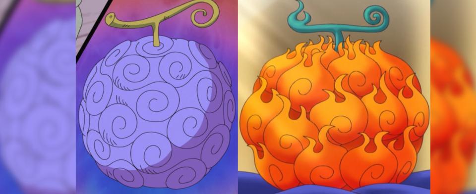 Would you rather eat the Gomu gomu no mi (gum gum fruit) or Mera mera no mi (flame flame fruit)?