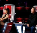 Does Ariana Grande have an edge on the Voice this season for having a huge fan base?