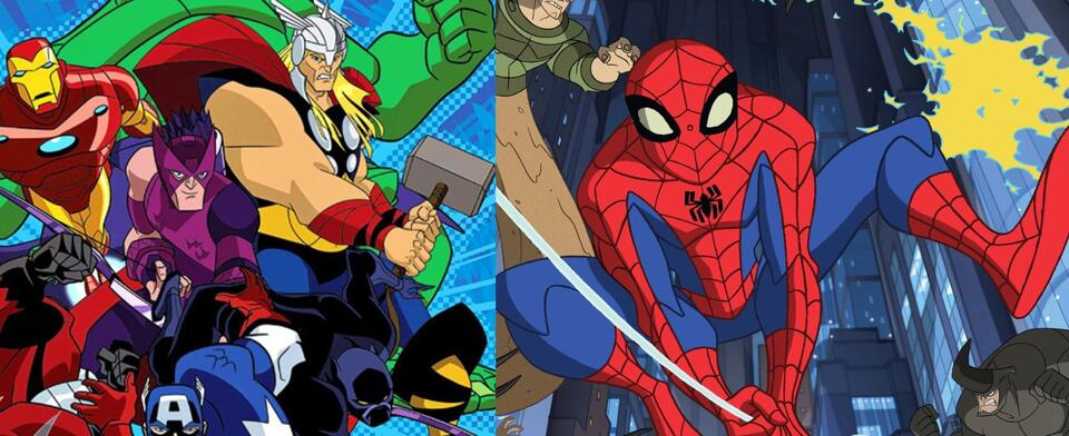 Which is the superior Marvel animated series, Spectacular Spider-Man or Avengers: EMH?