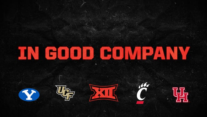 Are you excited about the four new teams joining the Big 12 Conference?