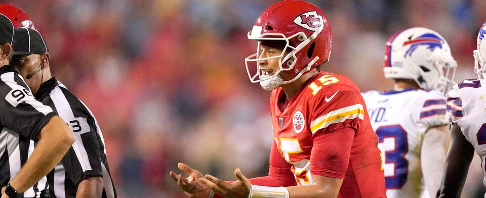 Are you worried that the Chiefs' run of dominance is over?