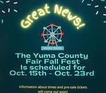 Will you be attending the Yuma County Fair?