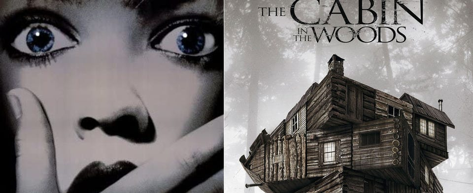 Which is better horror deconstruction/satire, Scream or The Cabin in the Woods?