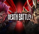 The next death battle Akuma VS Shao Kahn ( Street Fighter VS Mortal Kombat )  who wins this fight ?