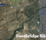 Do you support a footbridge connecting the east and west side of the Deschutes river south of Bend?