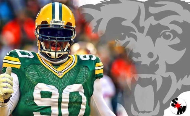 Which NFL free agent would you like to see in a Bear's uniform?