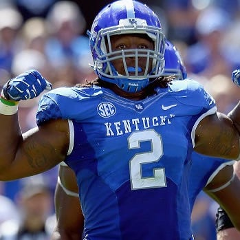 Who is the most freakish athlete in the NFL Draft?