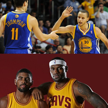 Which dynamic duo would you rather have in the #NBAFinals?