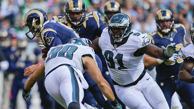 The Eagles have the best front seven in the NFL?