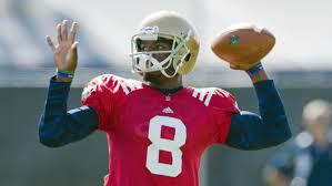 Who will be the starting QB next year for the Irish?